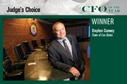 Stephen Conway, finance director of the Town of Los Gatos, was given the Judges' Award in the CFO of the Year awards.