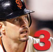 No. 3: Aaron Rowand.  2010 Salary: $13.6 million.  Team: San Francisco Giants.  Position: Outfielder.  Years with team: 3.  Contract expires: 2011.  Career highlights: 2x World Series champion. National League All Star 2007.