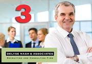 No. 3:  Delyse Nash & Associates  Number of Silicon Valley executive-level placements:  57 Number of Silicon Valley executive-level searches:  63 Number of companywide placements:  83 Sample of industries served:  Software, semiconductor, clean energy, biotech Top local executive:  Delyse Nash