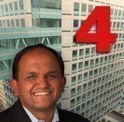 No. 4: Adobe Systems Inc.  Most recent four-quarters revenue:$4.2 billion. Four quarters ending on: 30-Nov-11. Four-quarters net income:$833 million.  Total Employees: 9,117. CEO: Shantanu Narayan.