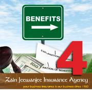No. 4: Zain Jeewanjee Insurance Agency Number of Silicon Valley senior benefits consultants: 19 Number of FTE employees in the benefits division: 19 Consultant or administrator:  Consultant Sample of services:  Medical benefits, group benefits Year founded:  1985 Top local executive: Zain Jeewanjee