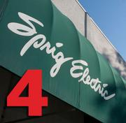 No. 4: Sprig Electric  Number of electricians in Silicon Valley: 350 Number of electricians companywide: 390 Union or nonunion shop: Union Year founded locally: 1970 Top local executive: Pepper Snyder, president and CEO