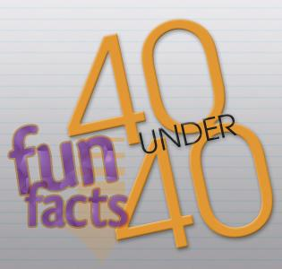 Click above to learn more about our 40 under 40, then look for the full list on the website tomorrow.