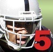No. 5: Nnamdi Asomugha.  2010 Salary: $12 million  Team: Oakland Raiders.  Position: Cornerback.  Years with team: 8.  Contract expires: 2010.  Career highlights: 4x Pro Bowl selection. 2x Raiders MVP.