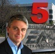 No. 5(Tie): Electronic Arts Inc.  Most recent four-quarters revenue: $3.9 billion. Four quarters ending on: 30-Sep-10. Four-quarters net income:-$290 million.  Total Employees: 7,600. CEO: John Riccitiello.
