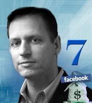 PayPal co-founder Peter Thiel sold 16.8 million Facebook shares Thursday, worth $640 million. He first invested in 2004.