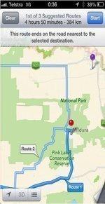 Apple Maps leads Australians into dangerous territory