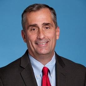 COO Brian Krzanich taking charge as CEO for intel