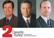 No. 2: Cassidy Turley Number of agents based in Silicon Valley offices: 111 Number of transactions in 2011: 1,252 Number of exclusive listings in 2011: 574 Sample services: Commercial leasing, financing, and investments Top local principals: Mike Kamm, Todd Beatty and David Hiebert