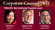 The winner of the Best IP Lawyer Award will be announced on March 1 at an celebration at the Sofitel, San Francisco Bay, in Redwood City.