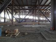 A tour of the new 49ers stadium in Santa Clara also included a peak under the stadium.