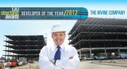The Irvine Co. landed at the top spot this year. Andrew Goodman is regional vice president of leasing for the company.