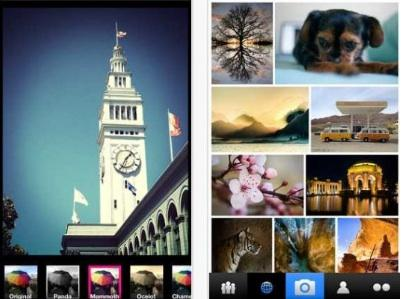 Flickr filters from its new app