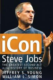 No. 1 Title: icon Steve Jobs: The Greatest Second Act in the History of Business  Authors: Jeffrey S. Young and William L. Simon Publisher: Wiley Release to date unit sales: 21,000 Number of pages: 368 Excerpt: At some deep level, there was an insecurity that Steve had to go out and prove himself. I think being an orphan drove Steve in ways that most of us can never understand.