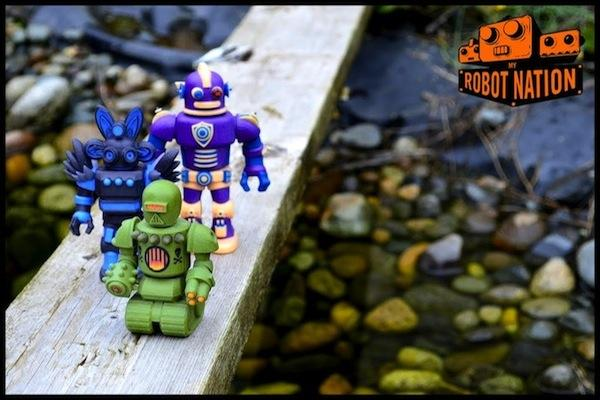 My Robot Nation uses 3-D printing to make customized toy robots.