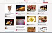 Many Pinterest users share images of food and drink with links to recipes or restaurants.