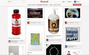 Another popular group of Pinterest pinboards shows products that people find interesting or want to buy.