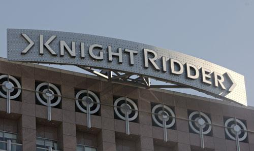 The Knight-Ridder building has been sold to CBRE Global Investors.