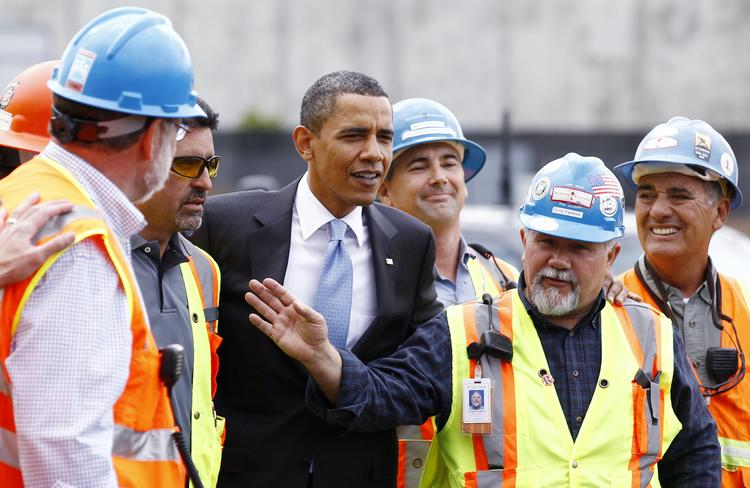 President Obama toured Solyndra in May 2010 after the Department of Energy signed a $535 million loan guarantee for the company.