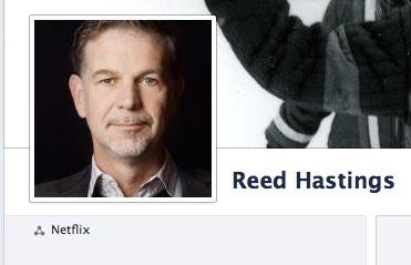 Reed Hastings and Netflix are in hot water with the SEC over claims he made on Facebook and in a blog over the summer.
