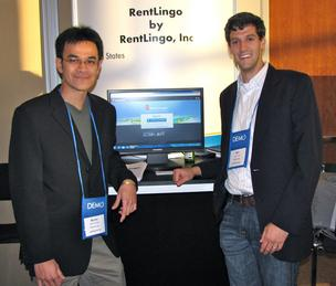 Byron Singh and Dan Laufer of RentLingo,