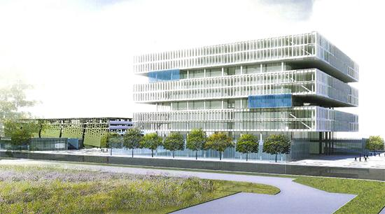 Samsung Semiconductor's conception designs for its new North San Jose headquarters. NBBJ is the architect.