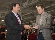 Draper Fisher Jurvetson venture firm founder Tim Draper, shown here with Tesla CEO Elon Musk, was among those who got the first 10 Model S sedans.