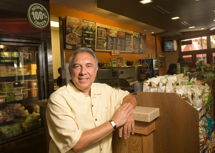 Togo's CEO Tony Gioia is leading an aggressive campaign to expand the franchise to 150 new sites in five states by the end of 2015.