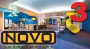No. 3: Novo Construction Inc.  2011 revenue earned from at-risk general contracts on projects in the Silicon Valley: $333.9 million  Address: 1460 O'Brien Drive, Menlo Park 94025  Recent notable project/client: Box
