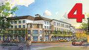 No. 4: The Plaza at Triton Park (Phase A)  Total square feet: 425,000  Address: 1168 Triton Drive, Foster City 94404