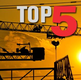 Click through the photo gallery to see the top five San Jose construction projects.