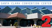 No. 2: Santa Clara Convention Center Total square footage of indoor meeting space: 302,000  Address: 5001 Great America Parkway, Santa Clara 95054  Meeting facility contact: Bill Benaderet, assistant general manager