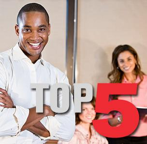 Click through the photo gallery to see the top five Silicon Valley minority-owned businesses.