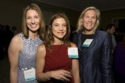 Honorees at Thursday night's Women of Influence event included, from left, Jeanette Calandra from PricewaterhouseCoopers, Mona Sabet from Cadence Design and Amity Millhiser from PricewaterhouseCoopers.
