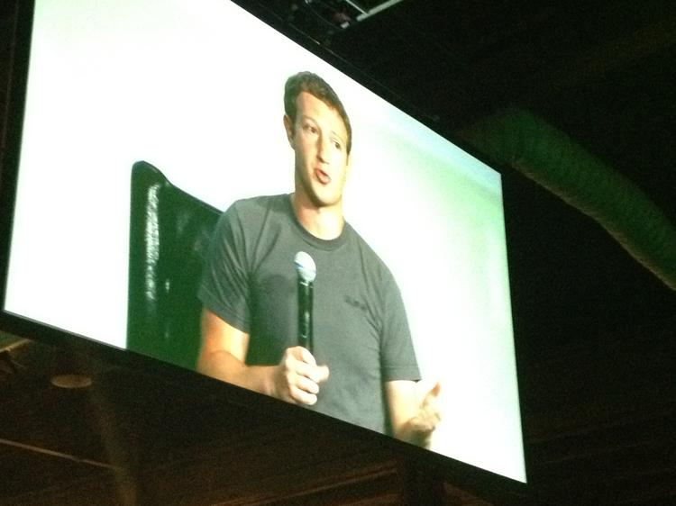Mark Zuckerberg gave his first interview since Facebook's IPO at TechCrunch Disrupt on Tuesday,
