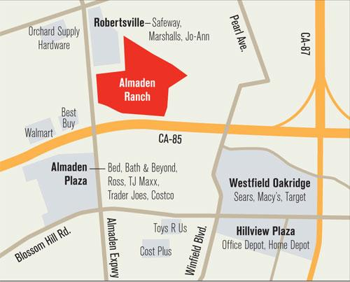 A neighboring shopping center has filed a CEQA lawsuit alleging that an environmental impact report for Almaden Ranch was not adequate.