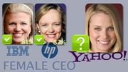 Marissa Mayer is stepping into a rare group of women tech CEOs. Whether she will have the same popularity among workers as IBM CEO Virginia Rometty or Hewlett-Packard CEO Meg Whitman remains to be seen.