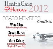 Here are the 2012 Silicon Valley Health Care Heroes finalists in the board members category.