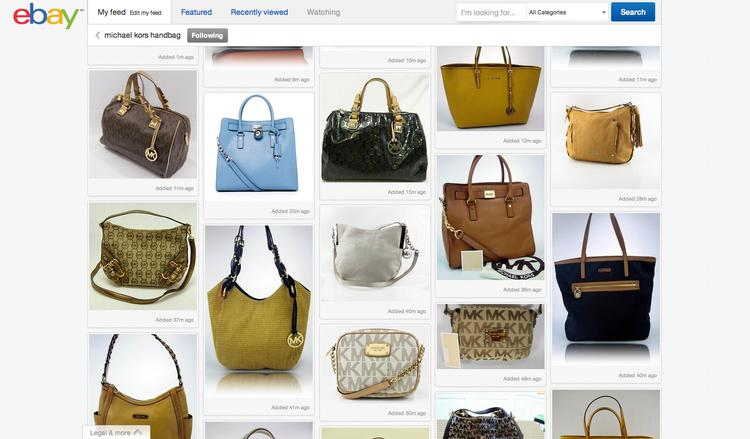 eBay Inc. has launched its new Pinterest-like homepage to all users in the United States.
