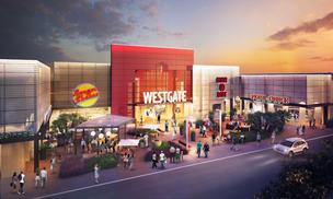 Artist rendering of Westgate Center in San Jose