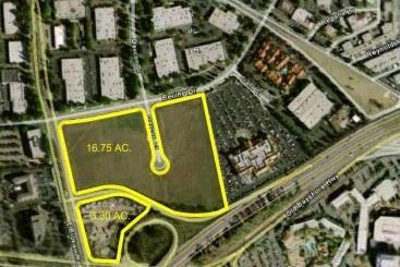 Peery-Arrillaga owns this 20-acre site at First and Brokaw in North San Jose. Apple is said to be considering it for development.