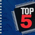Top 5: Silicon Valley semiconductor companies