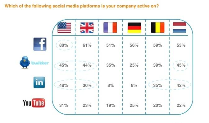 A report from InSite Consulting found that Facebook is by far the most used social media platform by U.S. businesses, which also do more with social networking than their counterparts elsewhere around the world.