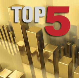 Click through the photo gallery to see the top five Bay Area private equity firms.