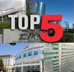 Top 5: Biggest Silicon Valley software companies
