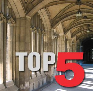 Click through the photo gallery to see the top five Silicon Valley colleges and universities.