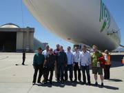 A group including inventors, former Openwave andUnwired Planet employees and CEO Mike Mulica took a zeppelin ride Thursday.