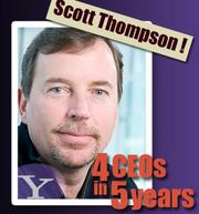 Scott Thompson arrived in January and left in May after false claims about a computer science degree were uncovered. The stock dropped 4 percent while he was in charge. Glassdoor says his employee popularity dropped more sharply to 31 percent from 85 percent in those few months, during which he made the biggest job cut in company history and said he would close 50 of its under-performing offerings. .