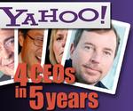 4 CEOs in 5 years: Rocky ride for Yahoo investors, workers