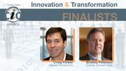 Craig Flower of Hewlett-Packard and Bradley Peterson of Charles Schwab  were finalists in the innovation and transformation category of the Bay  Area CIO of the Year award. Click here to read Flower's profile. Click here to read Peterson's profile.